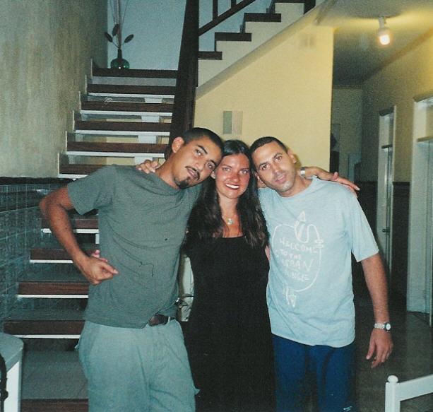 Nando, Alina y Seabstian
