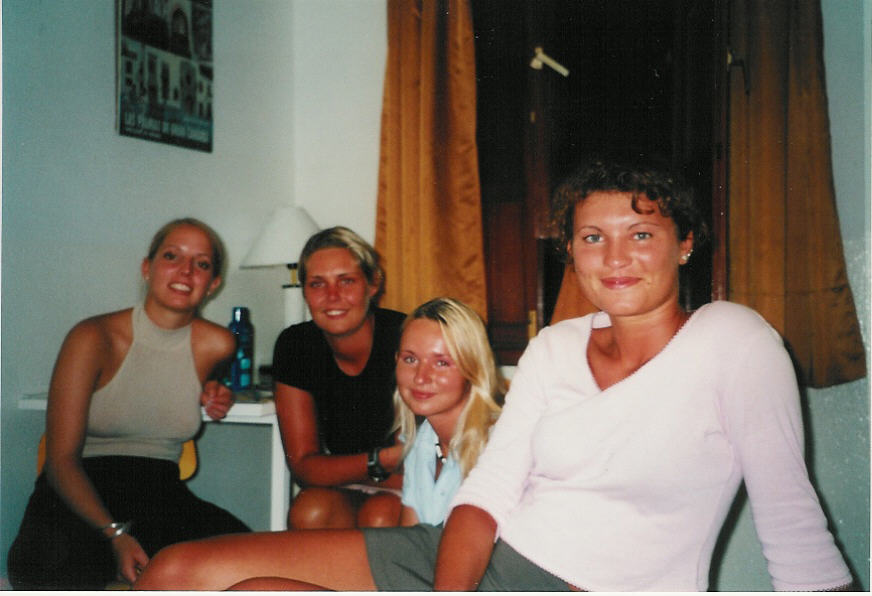Jutta, me, Nicole and Sandra